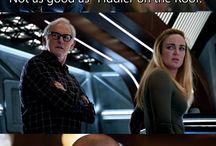 DC's shows (Legends, Arrow, Flash, Supergirl)