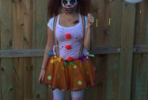 Halloween costumes / Circus clown