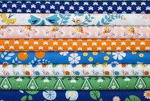 Fabric and Pattern / Fabric pattern artwork illustration design / by Victoria Johnson Design