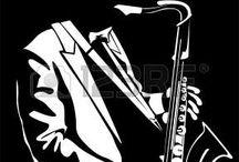 negro trompeta