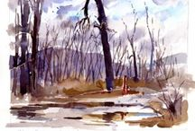 Tony Conner's Sketch of the Day / My Friend Tony Conner is a watercolor artist. He has committed to doing a sketch a day and has asked that we all hold him to it!  So here goes... Starting with Feb. 1, 2012