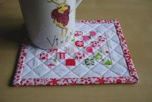 Mug Rug Ideas with Inklingo