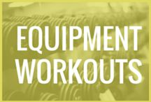 fitness: equipment workouts / These are workouts done with exercise equipment. www.cj7day.com