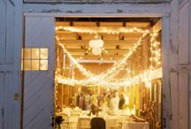rustic country wedding / Charming rustic wedding ideas perfect for your sweet homespun country-inspired wedding! Think burlap, chalkboard signs, vintage lace, handpicked flowers, wood decor, birch branches, hanging outdoor lighting, hay seating, and more! 2015 country wedding ideas consist of hanging chandeliers in barns, warm lighting, hanging burlap curtains, and loads of baby breath flowers in vintage glass milk bottles and tall galvanized buckets. This casual style is sentimental, sweet, and heartfelt. / by michelle mospens