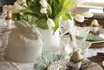 easter still life / easter decorations