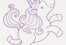 Unicorn, Mermaid etc, items