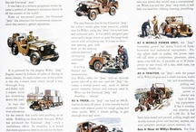 Vintage automotive ads