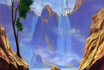 Fantasy enviroment and Backgrounds