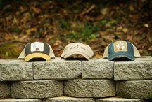 Bell & May hats / Custom Bell & May logo hats. Distressed Trucker hats, Classic Khaki logo hat