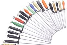 Sharpening Tools / Choose from steel rods, electric, hand held or a sharpening system to keep your edges from being dull.
