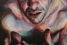 ART: Oil Pastels. / by Carrie Stephenson