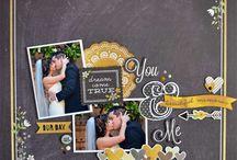 scrapbook - wedding