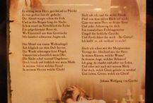Willkommen und Abschied - Johann Wolfgang von Goethe / Atmosphäre