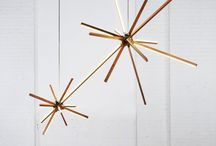 Stickbulb / It is every architect's dream to build with light. The Stickbulb collection takes this aspiration literally. Sleek wooden beams come in one to six foot lengths and are designed to plug into and out of various steel hardware connectors without tools. The result is a light-up erector set of interchangeable components that allows for unlimited customization and creativity. Get Stickbulb lighting at LightForm lighting showrooms and online.