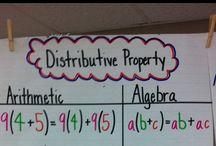 Elementary: Algebra / by Lillian Vania