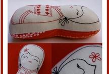 Sew a needle pulling thread / by Zoe Chapman