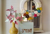 Spring Home Inspiration / by ItsOverflowing.com