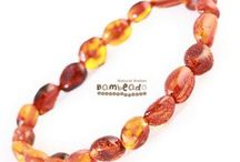Adult Amber Bracelets (AU) / The classic adult bud amber bracelet are very popular amber beads that have been smoothed so that there are no sharp edges. The bracelet is approx 18 cm in length and is threaded onto elastic to stretch over your wrist.  Each amber bud bracelet is unique that looks and feel great on. The bud style is available in sizes from baby to adult in the amber necklaces. Match your baby or spoil yourself and grab a matching necklace. Bambeado amber comes with a 6 month warranty.