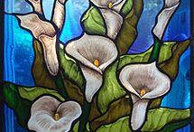 Pictură pe sticlă - Üvegfestés