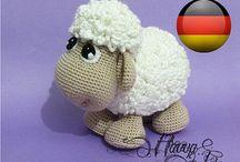 Amigurumi Schaf von Etsy