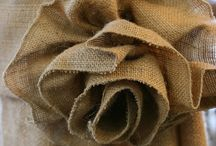 Living Room - Burlap Curtains / by Modern Switch