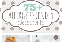 Alergy friendly recipes