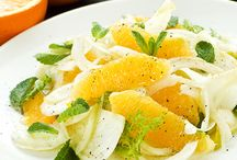 Cuisine: salades, légumes d'accompagnement