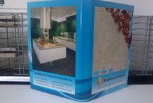 stone tile sample books