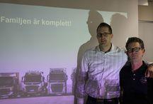 """""""kommunaldag"""" i Linköping / Den 14 februari 2014 bjöds männsikor som jobbade inom den offentliga sektorn in till Rejmes i Linköping för att lära sig mer om bränslebesparing, YKB och produktprogrammet. Självklart fick de även känna på nya Dynamic steering"""