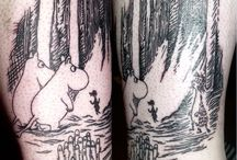 Kirjalliset tatuoinnit / Kiinnostavia tatuointeja kirjamaailmasta