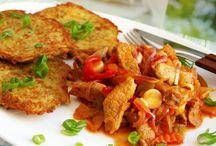 vaření, snídaně obědy,večeře