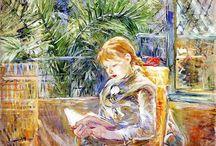 Berthe Moritso / schilderes