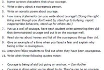 : courage :