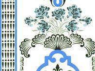 fabric, wallpaper, patterns