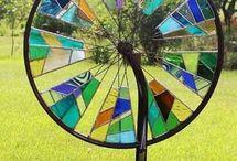 roții biciclete colorate.