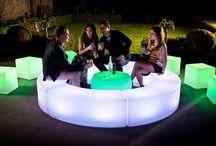 Illuminated Furniture / LED furniture, High resilient LDPE material, Multi-colored...At LEDHub Inc. #LetThereBeLight