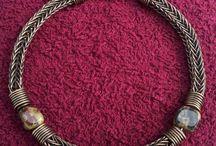 Viking knit jewellery