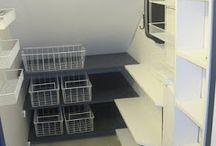 Under Stairs Storage / Storage ideas for under the stairs