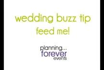 wedding planning tips :: video / by Saundra Hadley