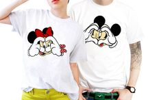T-shirts for him and her