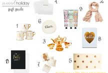 Swank Holiday Gift Guide / Handpicked favourites from SwankMama founder, Kristina Cross!