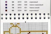 Знаки зодиака / Вышивка
