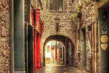 Old City Streets / by Leah Price Hawks