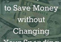 Money Saving Ideas / by Cindy Williams