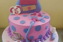 Myas 1st bday cake
