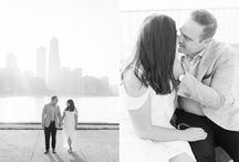 [ Chicago Photo Locations ] / The best spots in Chicago to take wedding, engagement and family photos. From skyline views in Lincoln Park to pretty flowers in the Laurie Gardens, these spots will give you gorgeous backgrounds for treasured photos