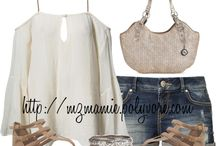 Summer outfits / by Darlene Marrero