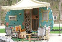 Vintage campers / OK.  I admit it.  I want one of these.  I want to go camping and spend time with Dwight just enjoying the travel and the summer together.  And I want one of these cute, vintage campers to do it in. / by Paula Melton