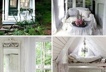 Dream garden cottage and private craft room / One day I'll have a little hide away.