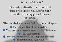 Stress Awareness / Raising awareness of stress; learning to recognise signs, symptoms & causes; and means of reducing stress.